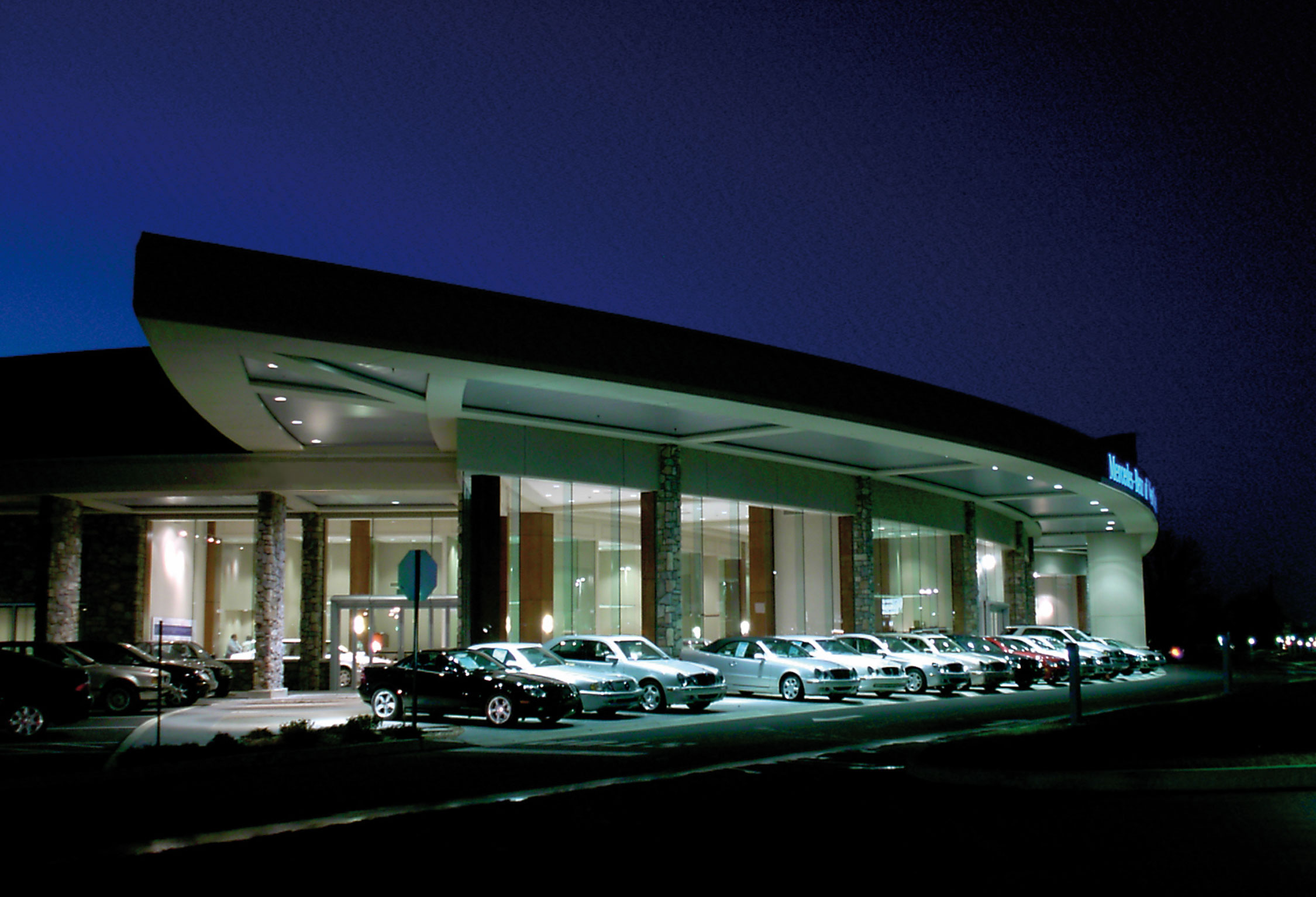 mercedes benz of west chester beam illuminating architecture. Cars Review. Best American Auto & Cars Review